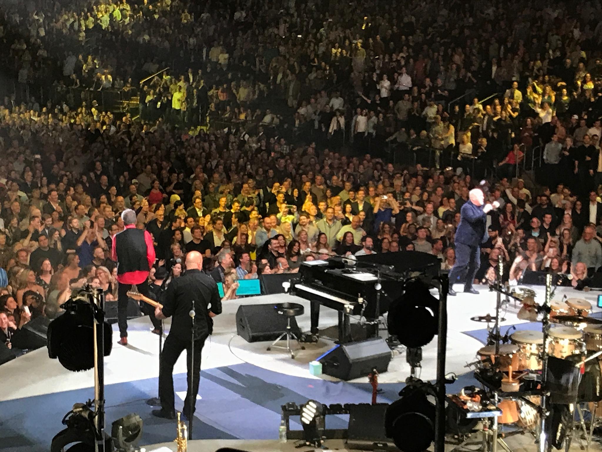 Billy Joel At Madison Square Garden - October 20, 2017 - Billy Joel ...