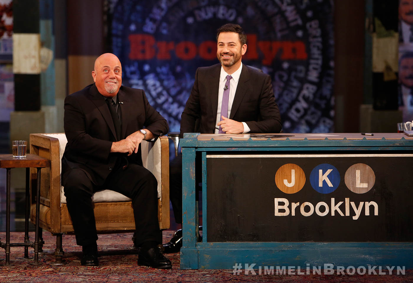 Billy Joel at Jimmy Kimmel Live! October 19, 2017
