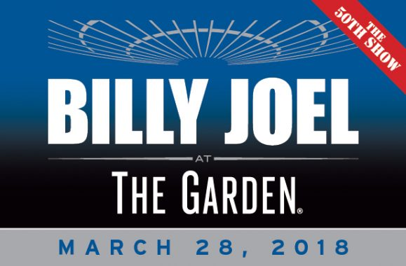 Billy Joel Announces Record-Breaking 50th Consecutive MSG Show March 28, 2018
