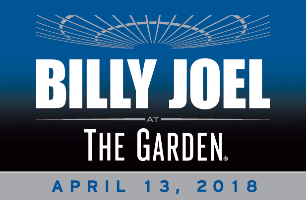 Billy Joel Madison Square Garden April 13, 2018