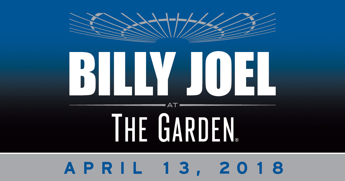Billy Joel Madison Square Garden 51st Show Added April 13