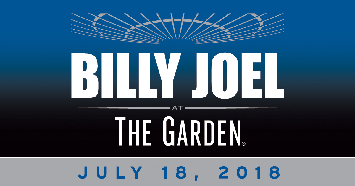 Billy Joel MSG July 18, 2018