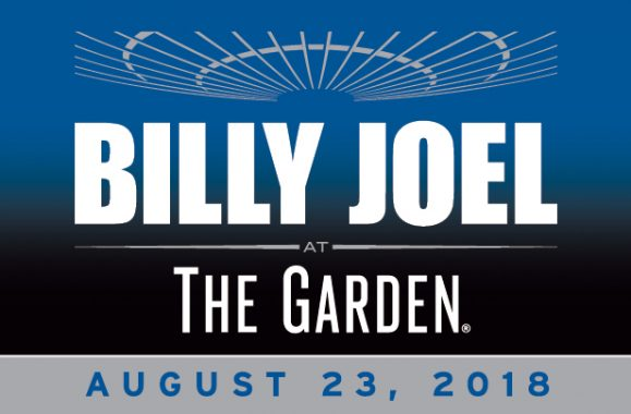 Billy Joel To Perform At Madison Square Garden On August 23, 2018
