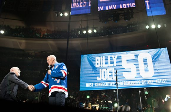 Billy Joel Celebrates 50th Consecutive Residency Show At The Garden