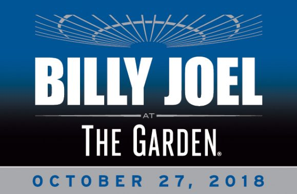 Billy Joel To Perform At The Garden On October 27th