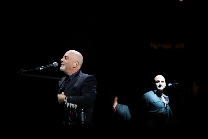 Billy Joel performs in concert at Madison Square Garden in New York, NY on April 13, 2018