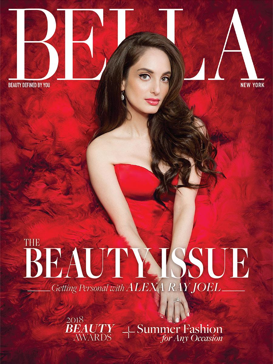 Alexa Ray Joel cover story Bella New York Magazine May/June 2018 beauty issue