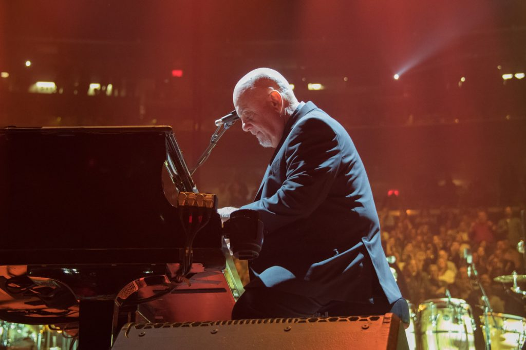 Billy Joel performs in concert at Madison Square Garden in New York, NY, on April 13, 2018