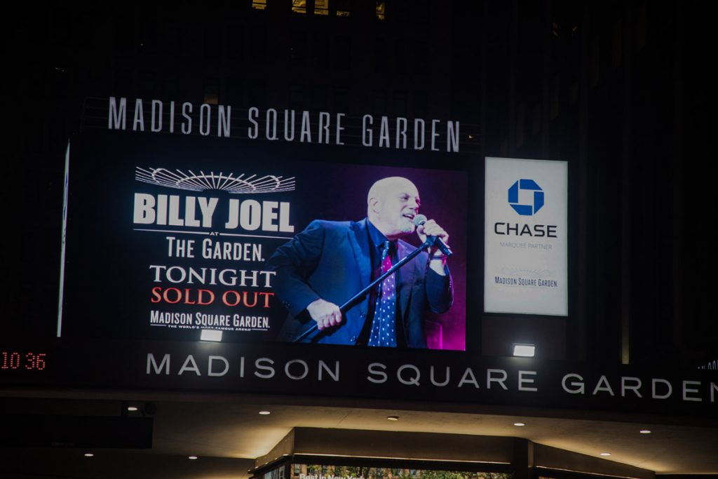 Billy Joel At Madison Square Garden New York, NY – April 13, 2018 (Photo 9)