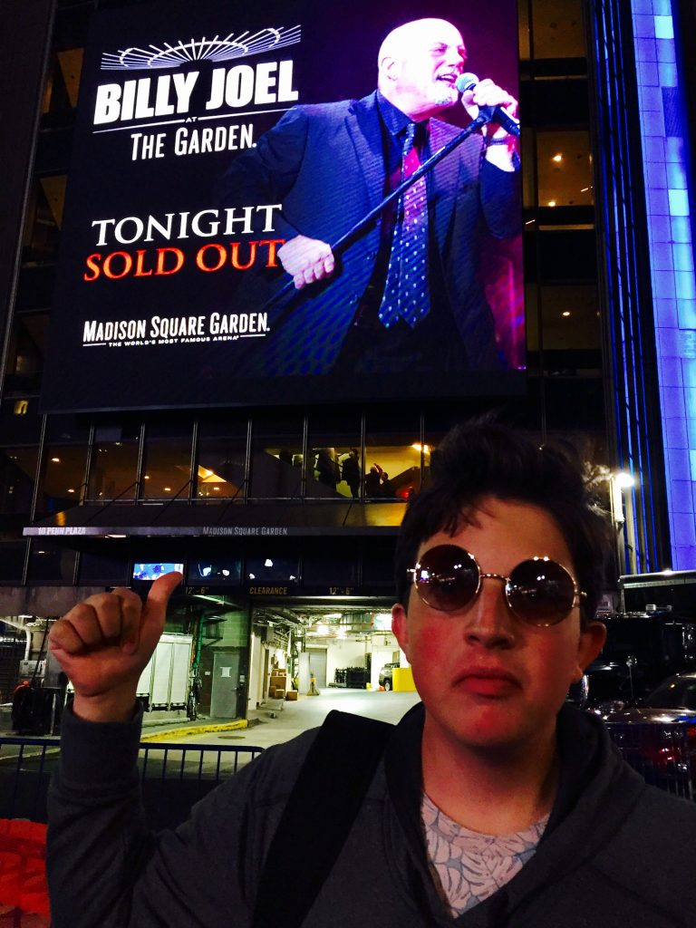 Connor at MSG