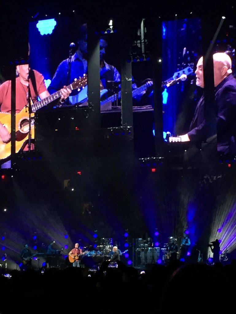 Paul Simon and Billy Joel