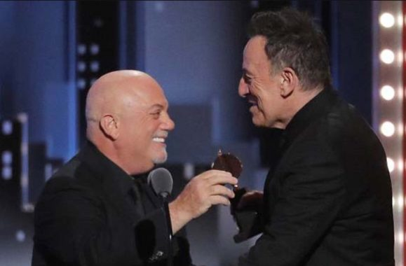 Billy Joel & Bruce Springsteen At The Tonys