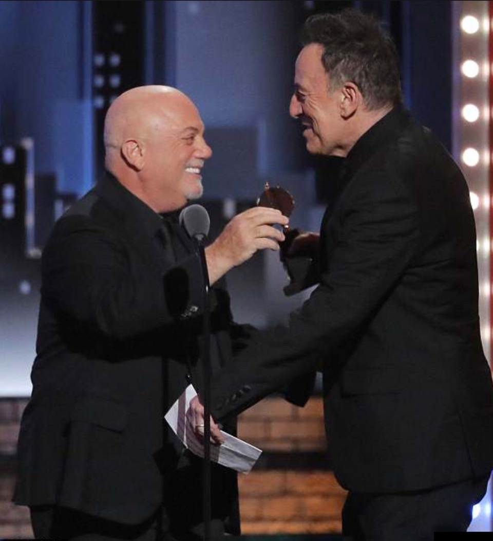 Billy Joel and Bruce Springsteen Tony Awards June 10, 2018