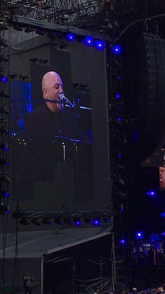 Billy Joel Old Trafford 2018