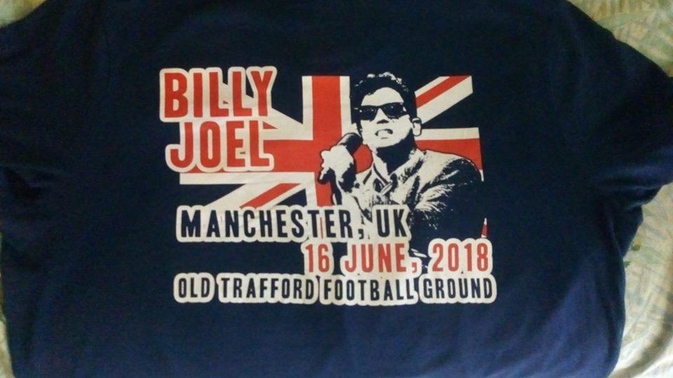 Billy Joel Old Trafford