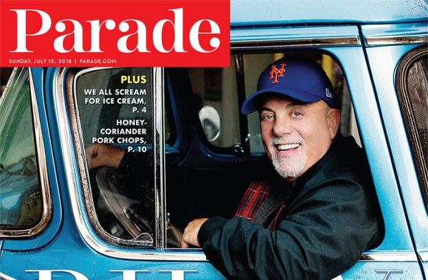 Billy Joel On The Cover Of PARADE Magazine Available Now!