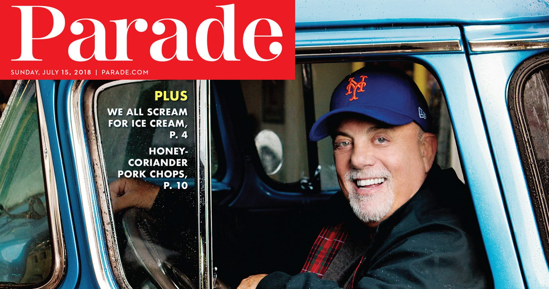 Billy Joel PARADE Magazine July 15, 2018 cover story