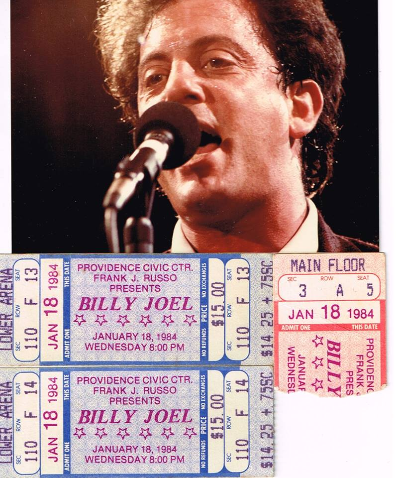 Billy 1984 with Tickets