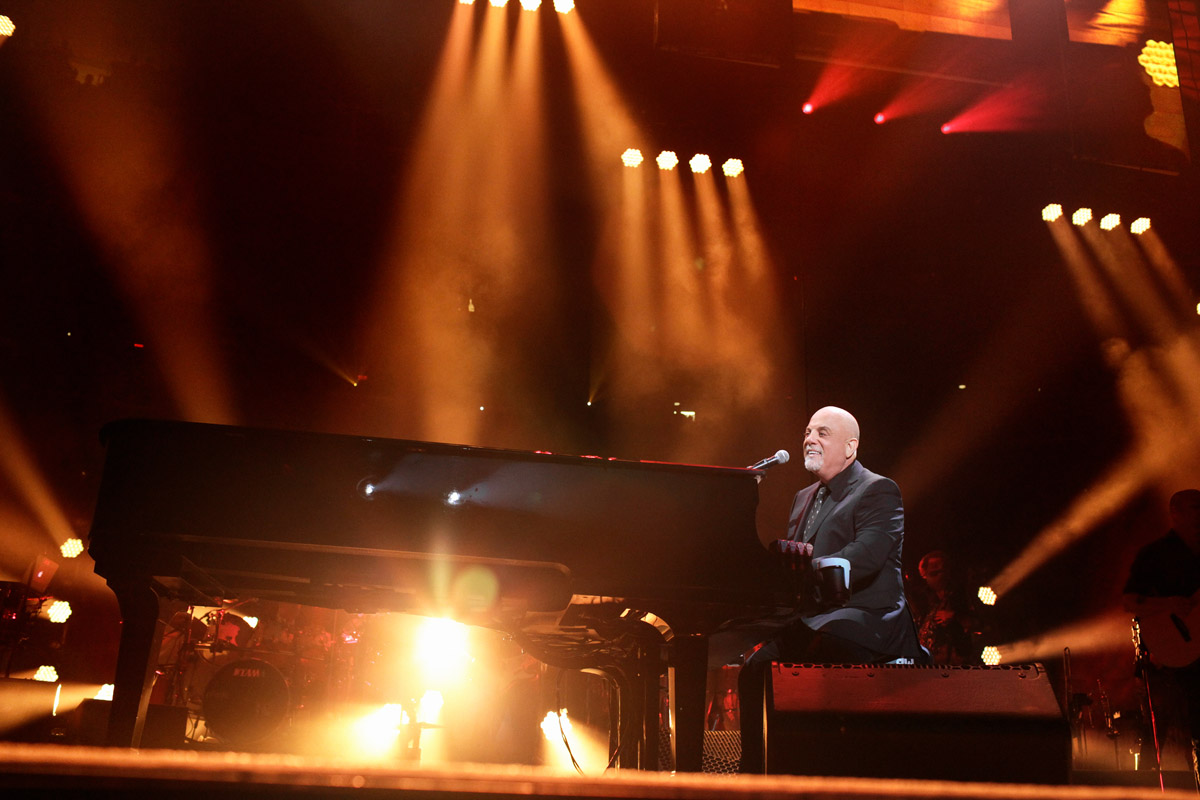 Billy Joel 100th concert at Madison Square Garden in New York, NY, July 18, 2018