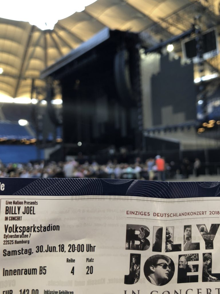Billy Joel Hamburg