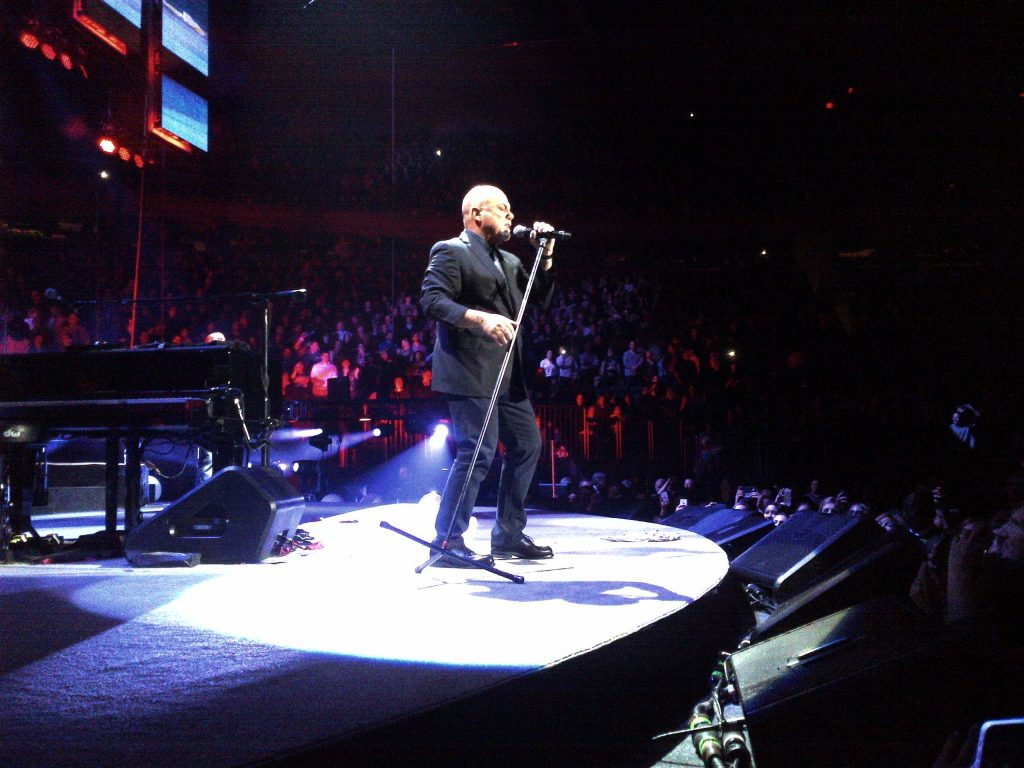 Billy Joel Owns The Stage