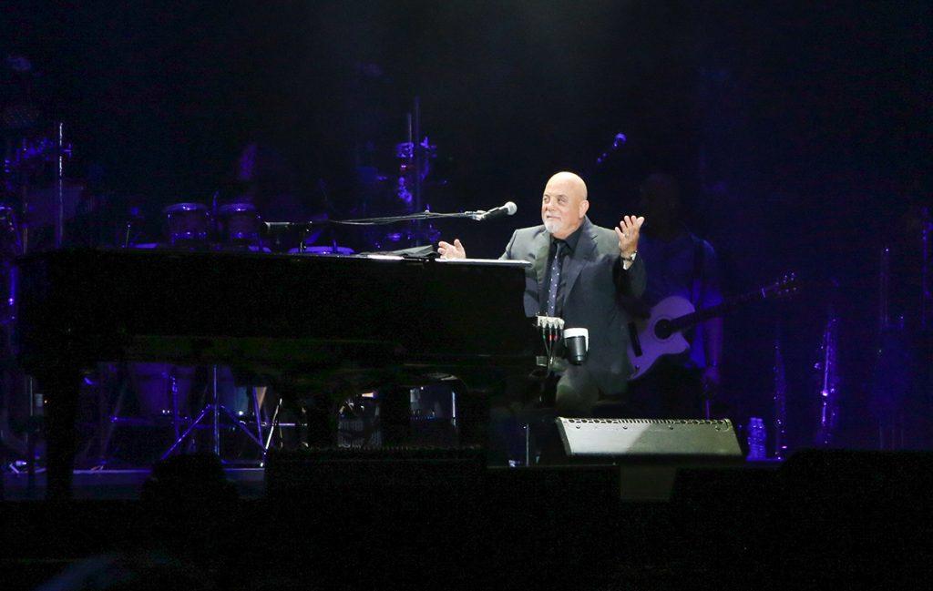 Billy Joel in concert at Citizens Bank Park Philadelphia, PA July 27, 2018