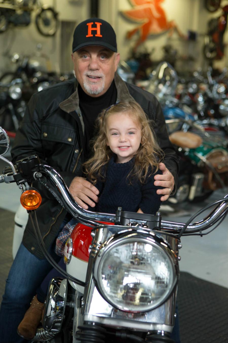 Billy Joel and Della Rose Joel