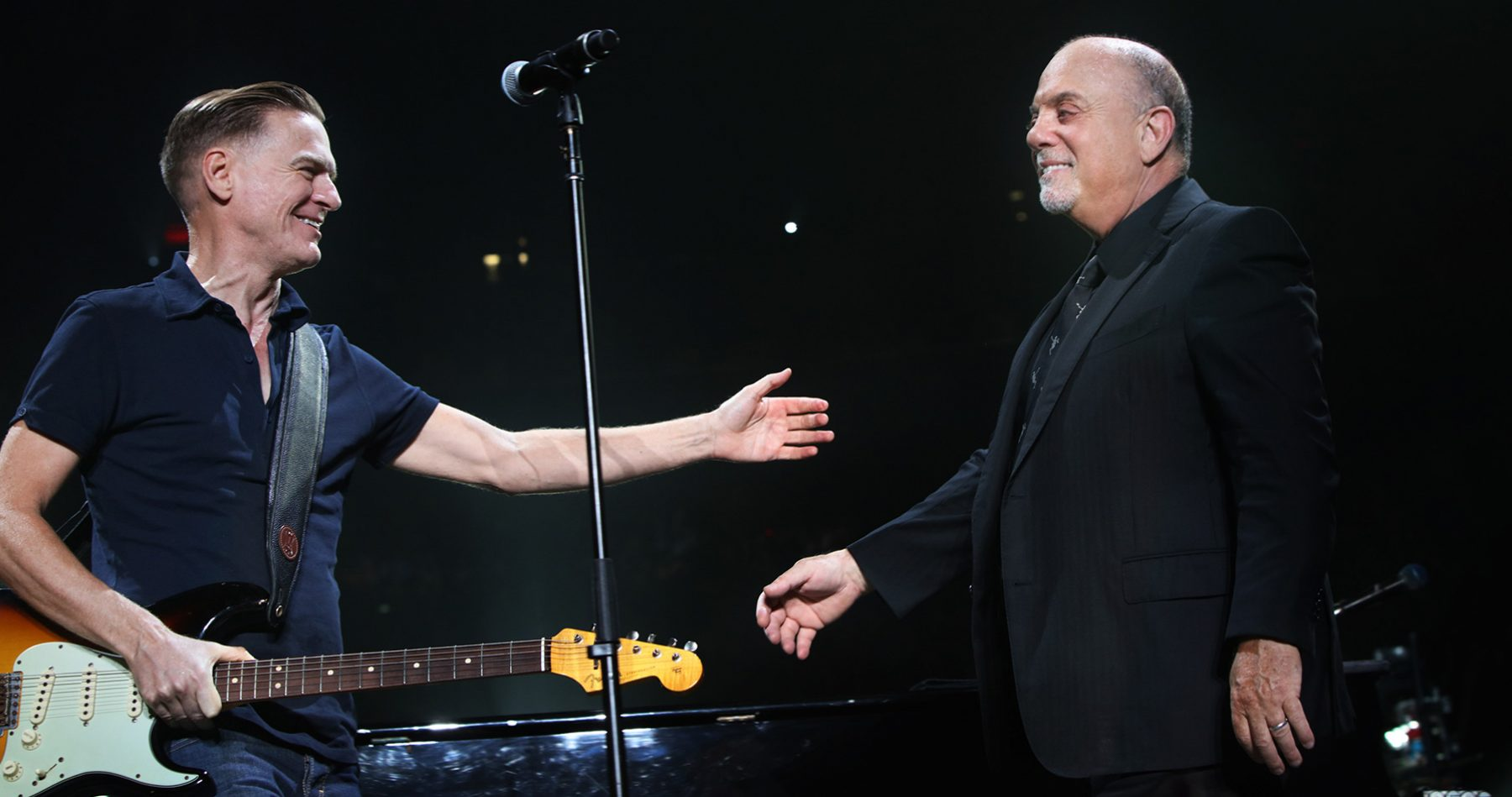 Billy Joel and Bryan Adams in concert Madison Square Garden New York, NY August 23, 2018