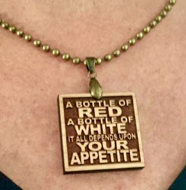 Perfect necklace for the show.