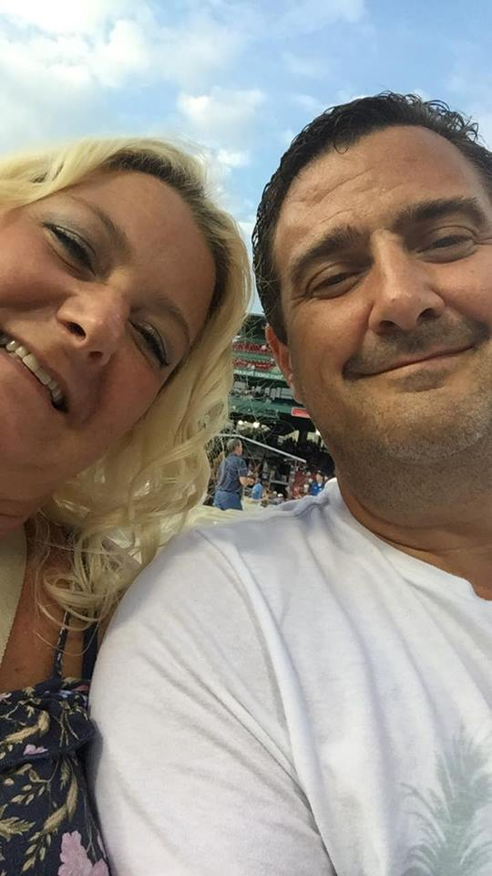 David And Allison / Fenway 2018