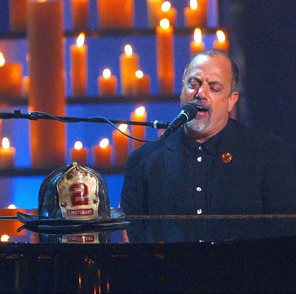 Billy Joel at The Concert for New York City October 20, 2001 at Madison Square Garden in New York, NY