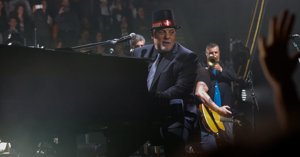 Billy Joel Concert At Nassau Coliseum