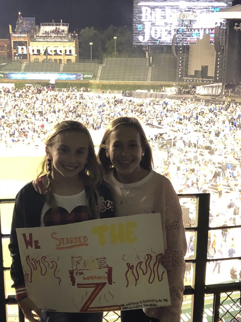 First concert for best friends who discovered Billy Joel and became obsessed!