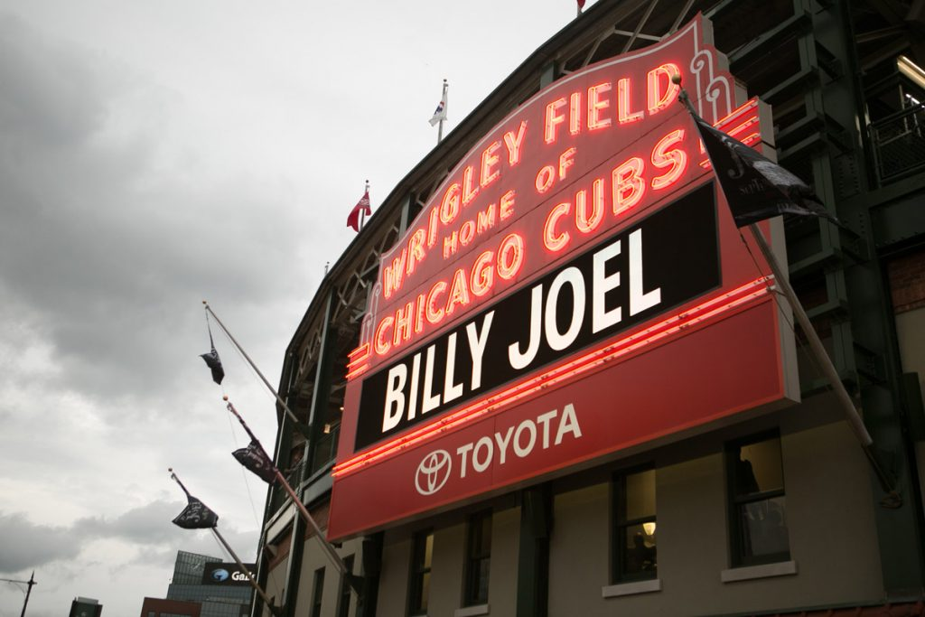 Billy Joel At Wrigley Field Chicago, IL – September 7, 2018 (Photo 5)