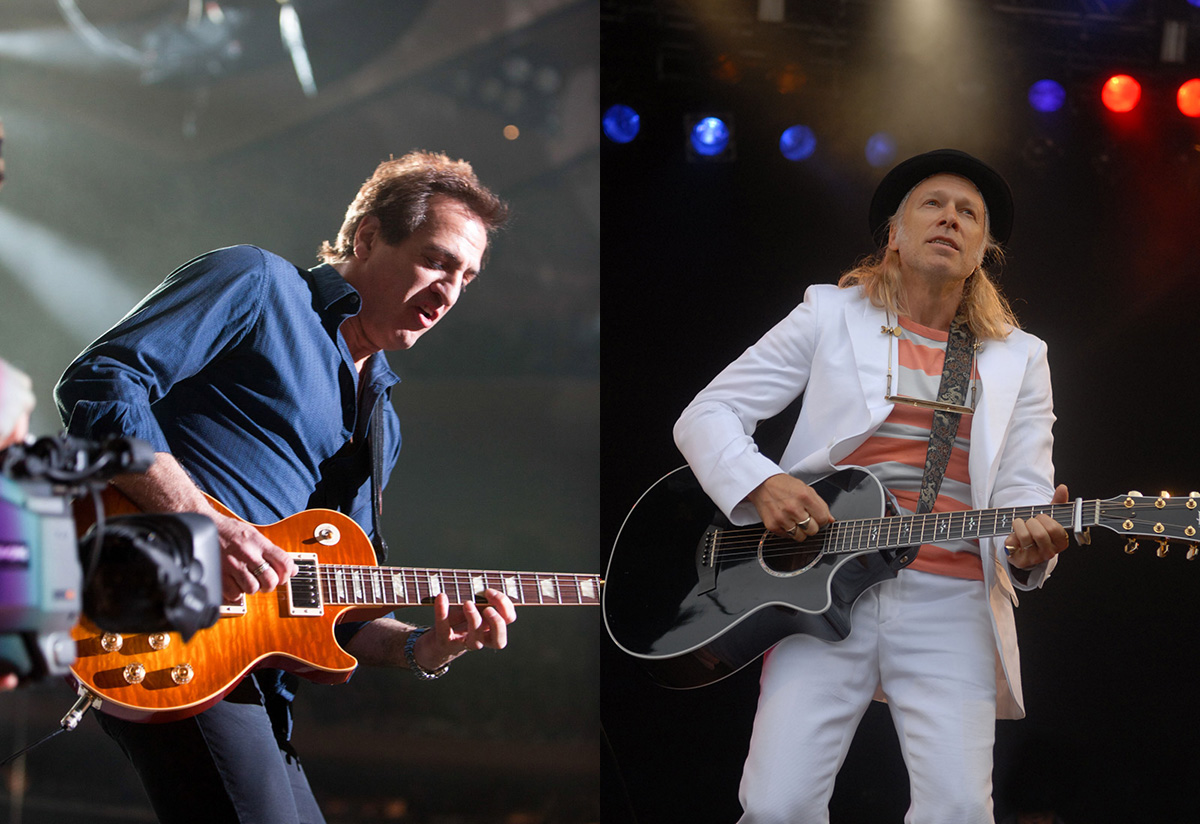 Guitarist Tommy Byrnes and singer-songwriter Elliott Murphy