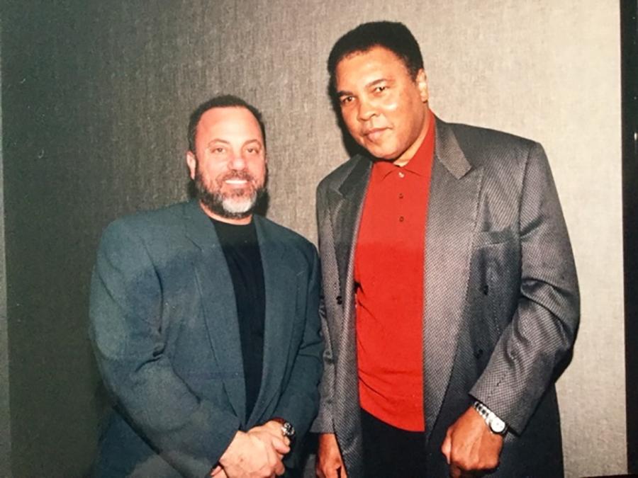 Billy Joel and Muhammad Ali