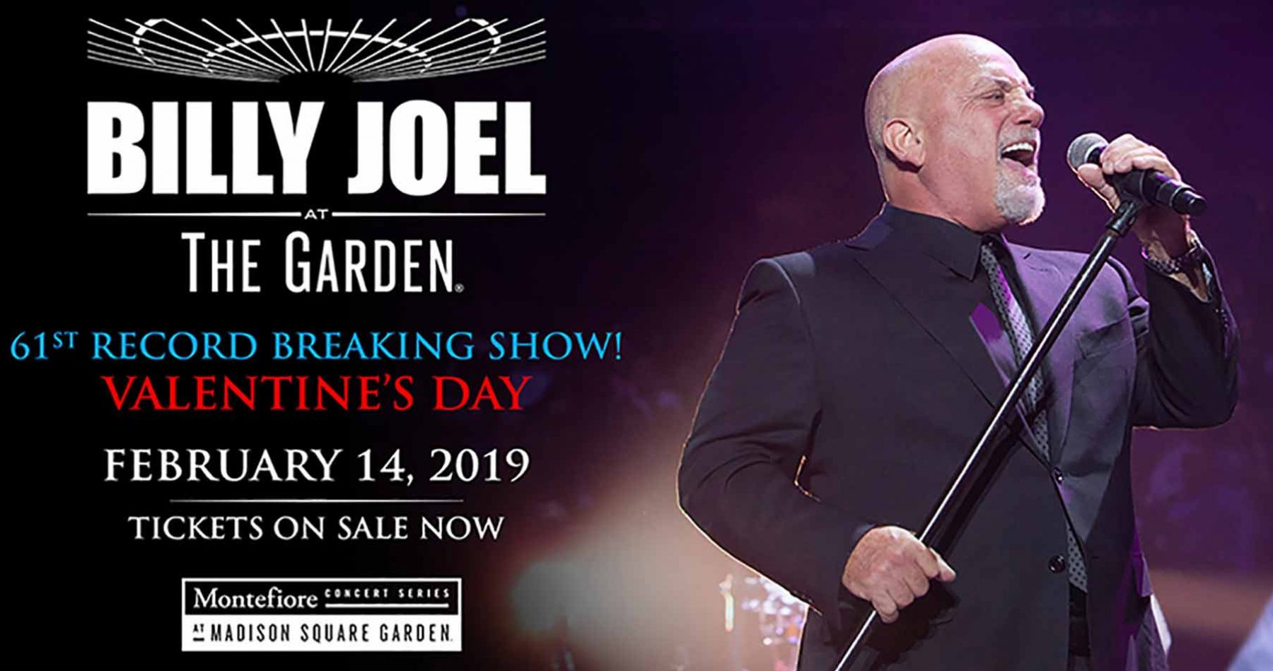 Billy Joel Valentines Day 2019