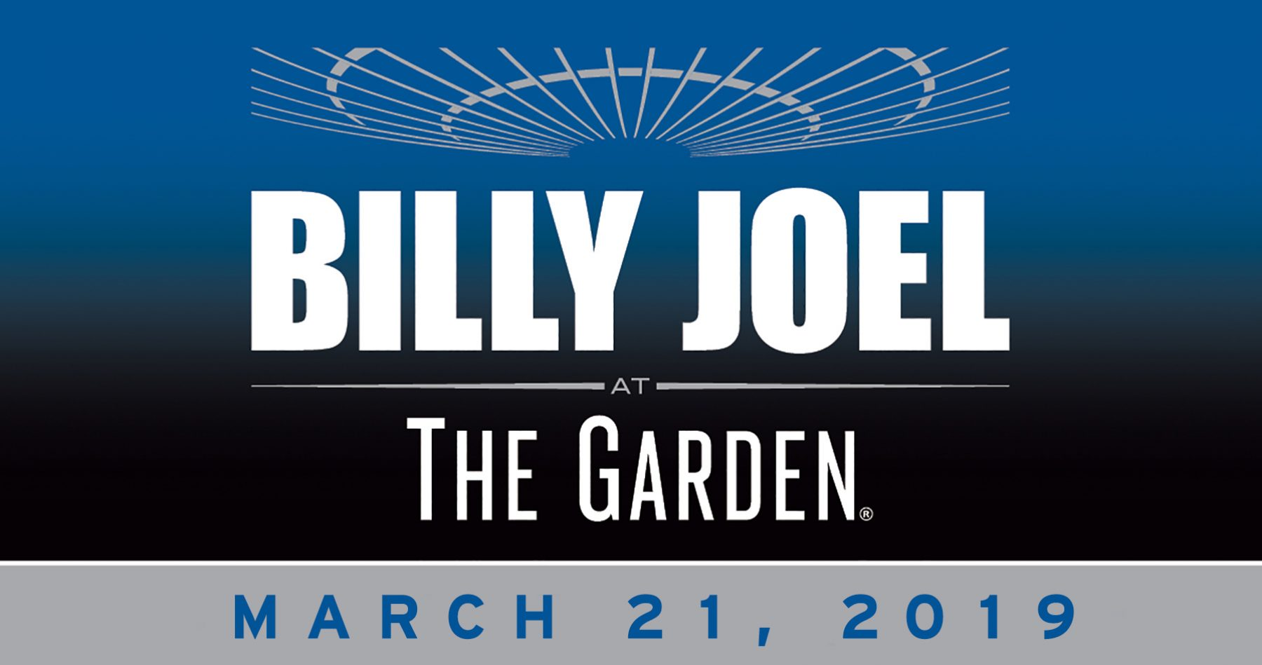 Billy Joel to play Madison Square Garden March 21, 2019
