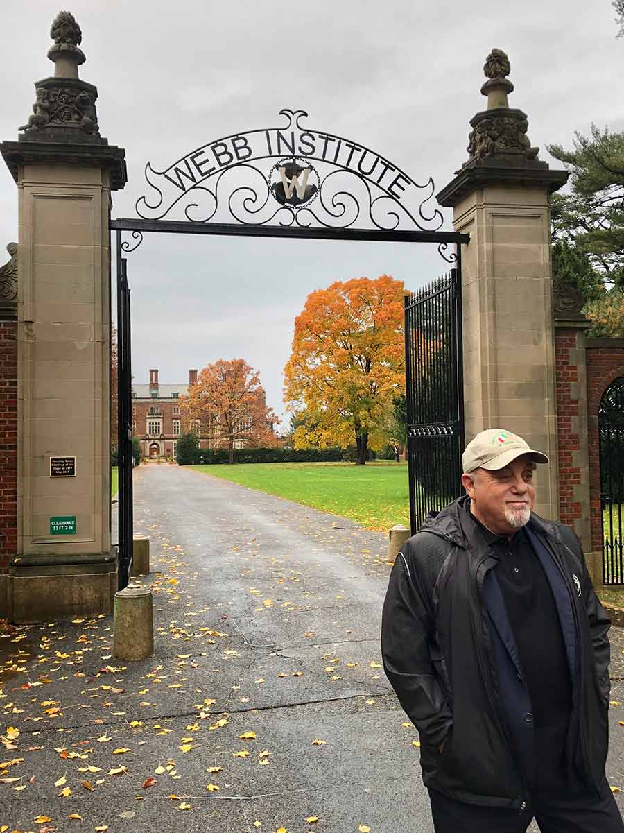 Billy Joel at Webb Institute