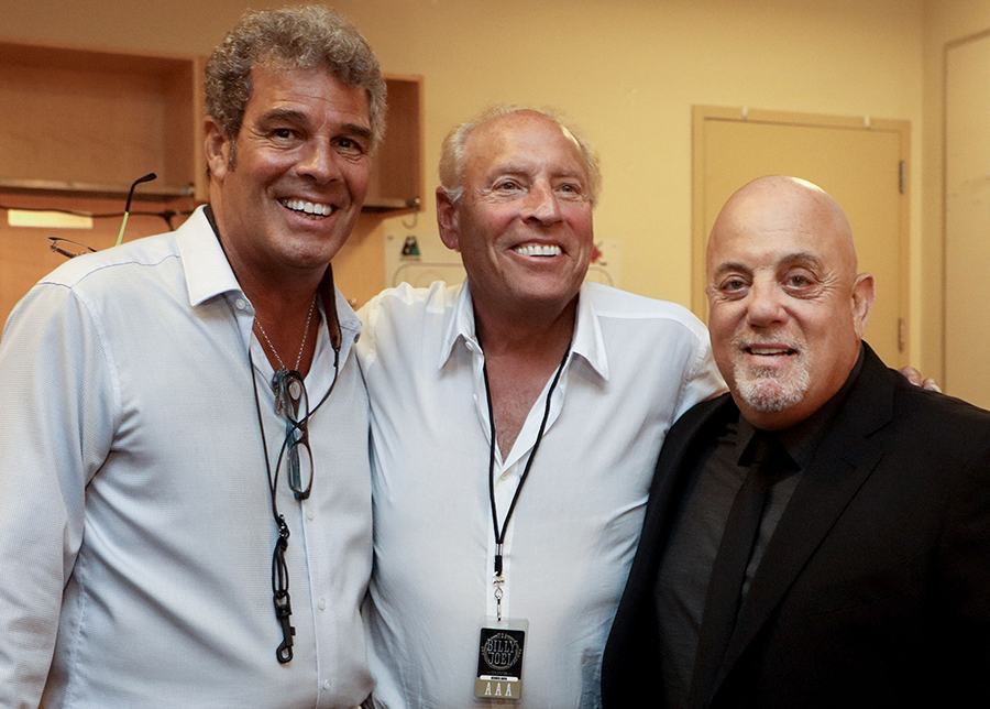 Mark Rivera, Dennis Arfa, Billy Joel