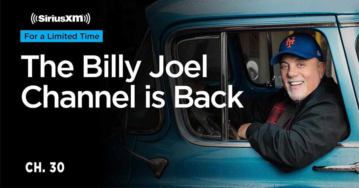 Billy Joel Channel back on SiriusXM