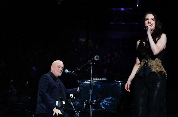 Billy Joel Joined On Stage By Daughters Alexa & Della For December 19 Concert At The Garden