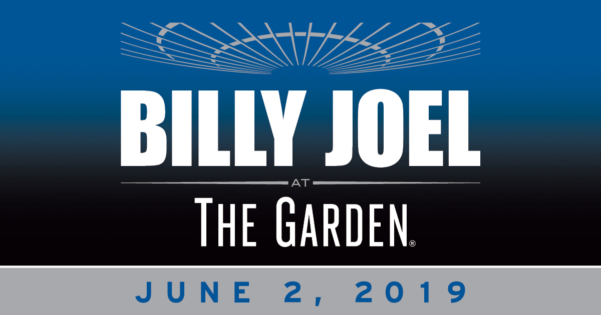 Billy Joel Madison Square Garden June 2, 2019