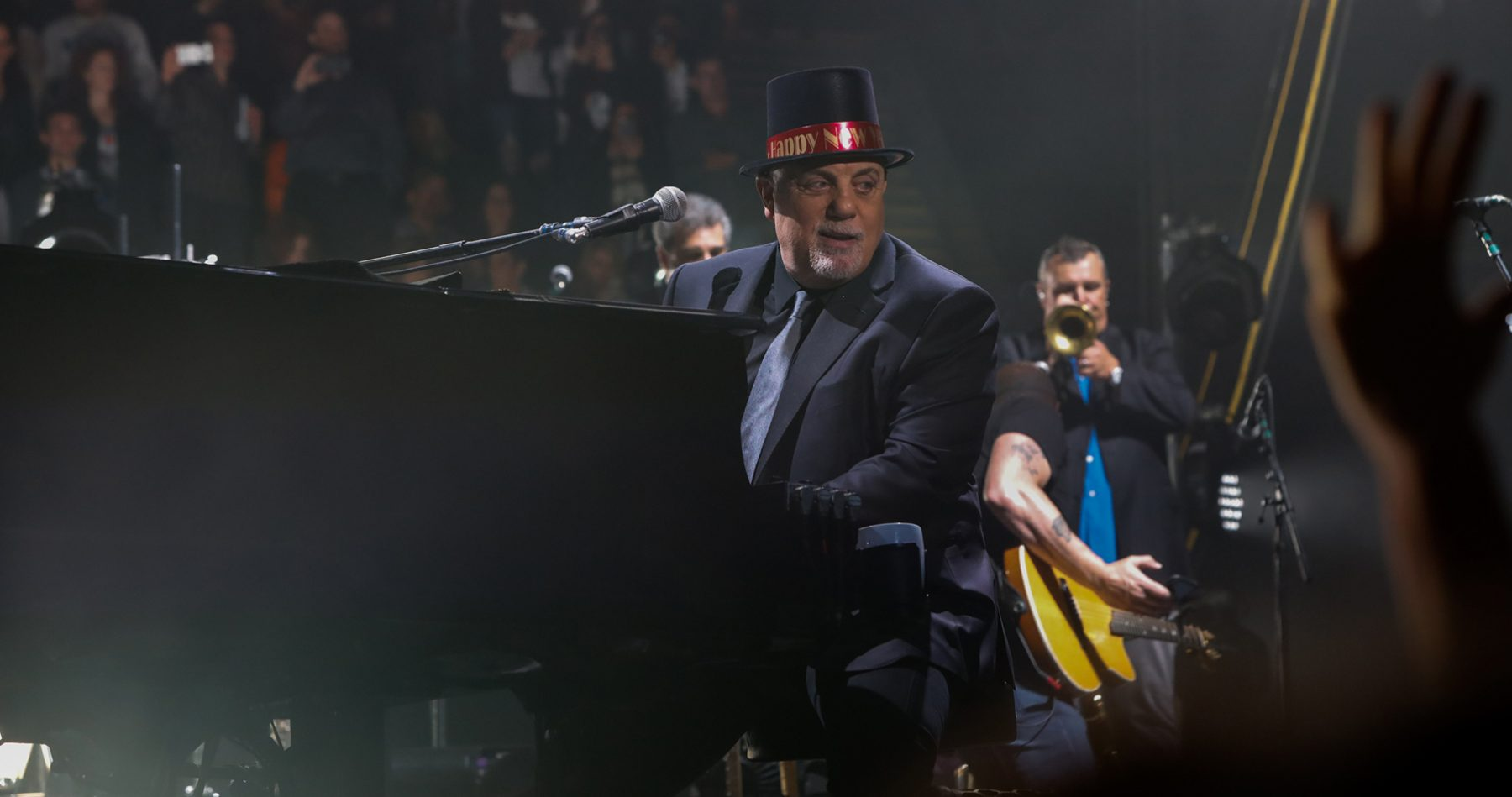 Billy Joel in concert New Year's Eve at Nassau Coliseum Uniondale, NY December 31, 2018