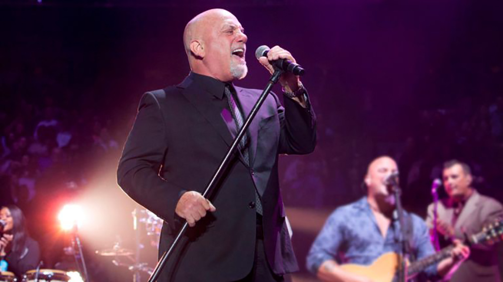Billy Joel performing at Madison Square Garden. Photo by Myrna Suarez.