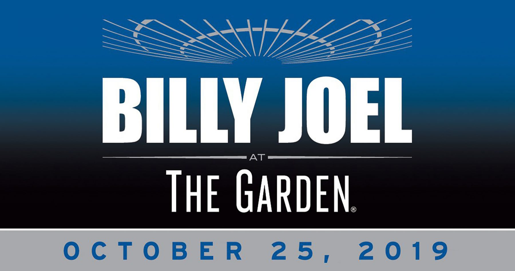 Billy Joel to play Madison Square Garden October 25, 2019