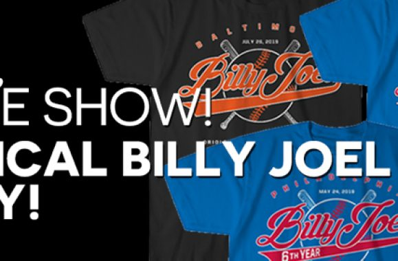 Get Your Official Billy Joel MLB Tee Today!