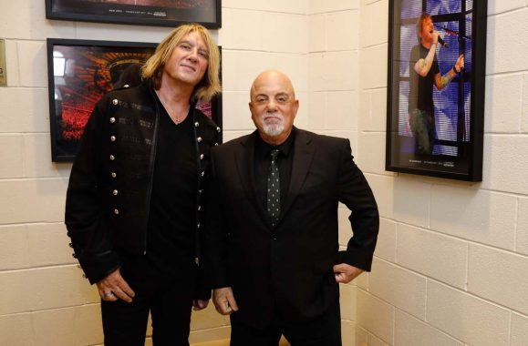 Billy Joel Brings Out Joe Elliott At Madison Square Garden