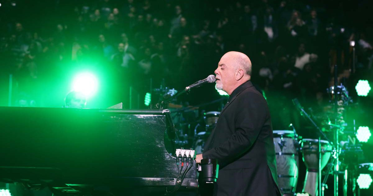 Billy Joel Concert At Madison Square Garden in New York, NY – December 11, 2019