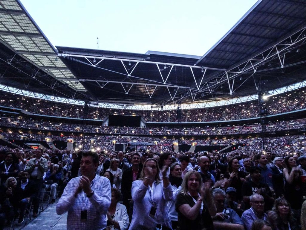 Billy Joel At Wembley Stadium – June 22, 2019 (Photo 13)